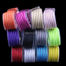 Wholesale price 1000pcs/lot Colorful 1.5M 5FT 8pin fabric Nylon usb data sync charger cable cord line for iphone 5 5s 6 6s plus(China (Mainland))