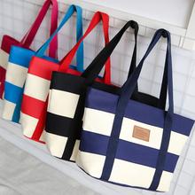 Fashion Unisex Women Men Reusable Cotton Linen Eco Friendly Shopping Bag Grocery Tote Patchwork Shoulder Handbag tote bag ZX-056(China (Mainland))