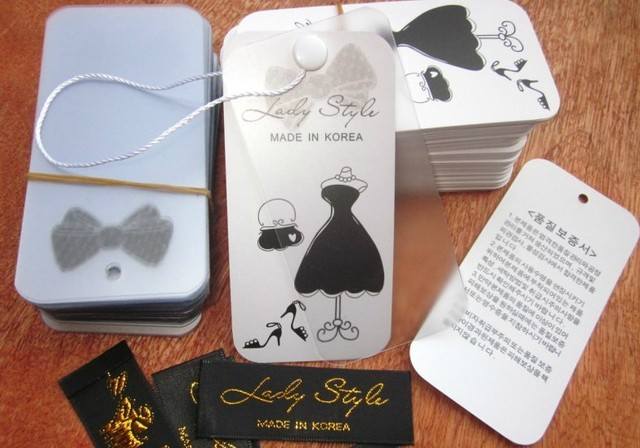 Clothing tags+ collar label  spot  or  order !!!  high quality