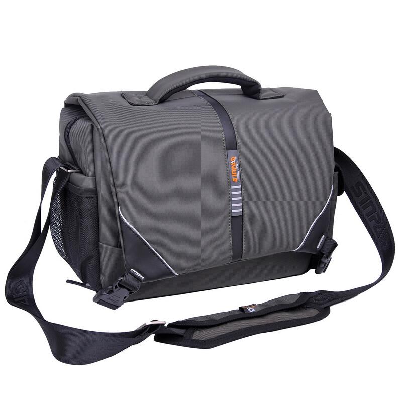 Large For Nikon SLR Professional Camera Bag Digital Packet Single Shoulder Camera Bag Army Gray(China (Mainland))