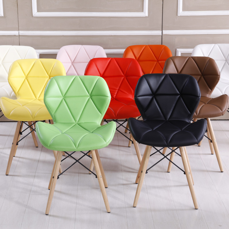 Simple modern art office chair creative personal conference chairs dinette chairs 8colors optional(China (Mainland))