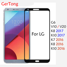 Buy GerTong Full Cover Tempered Glass LG K10 K8 2017 K7 2016 G6 V10 V20 Screen Protector Ultra Thin Toughened Protective Film for $1.25 in AliExpress store