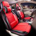 Car seat cover custom fit for volvo s60 car cover seat cushion black PU leather seat