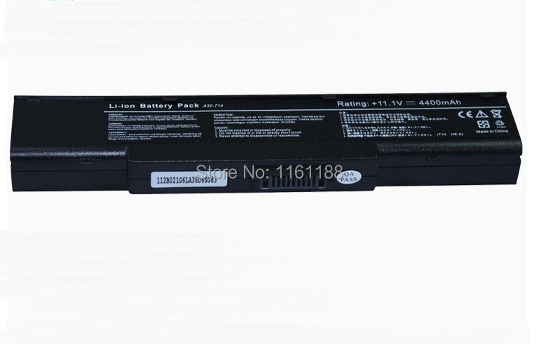 laptop battery for asus T14 Z65R FOR JoyBook R45 R46 R47 FOR HAIER T68 T68D T68G A32-T14 L0690L6 15G10N375522 2C.200ES.031(China (Mainland))