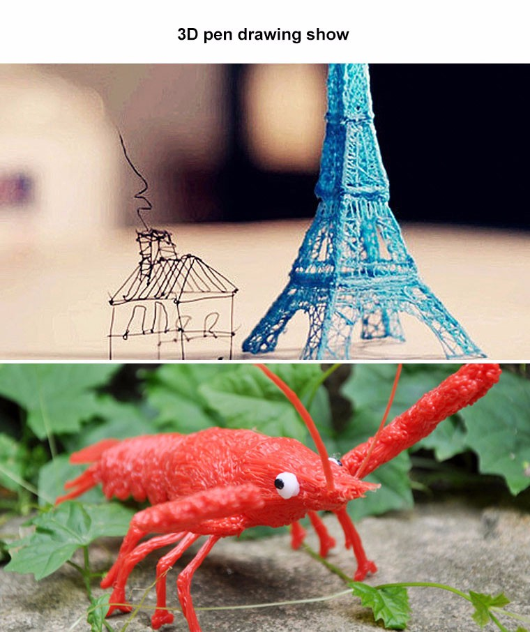 New hot sale cool gift for children SL400 Children doodle toy pen 3D pen use PLA filament safe for children use 3d painting pen