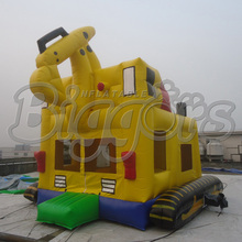 FREE shipping by sea Excellent Design Inflatable Bouncer Inflatable Trampoline Bounce House For Party(China (Mainland))