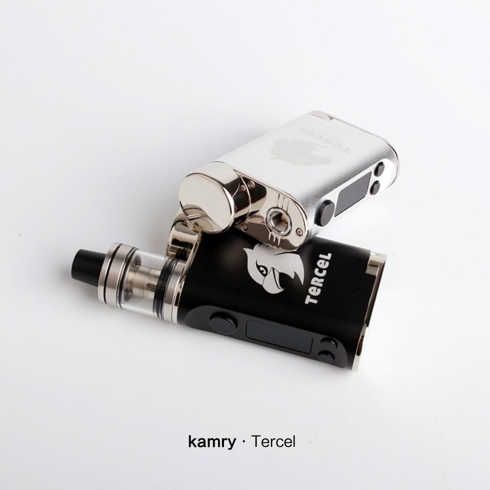 ถูก บุหรี่อิเล็กทรอนิกส์70วัตต์VTC VapeสมัยชุดKamry Tercel 5-70วัตต์VWกล่องชุดเริ่มต้นสมัยVaporizerควบคุมอุณหภูมิบุหรี่อิเล็กทรอนิกส์