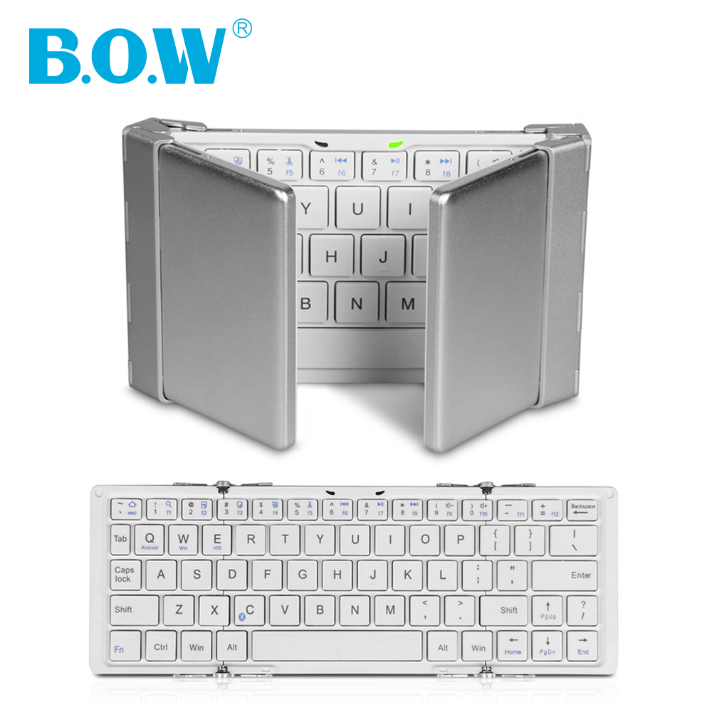Hot! Universal Foldable Keyboard For iOS, Android, Windows, Tablets and Smartphone With Stand and Comfortable Low-Profile Keys(China (Mainland))