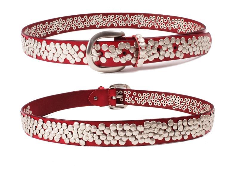 rivet men belt real leather mens belts luxury designer belts men high