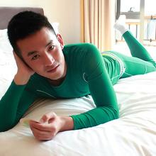 super high quality autumn -winter thermal underwear V-neck long john john thermo clothing sets brand series leggings(China (Mainland))
