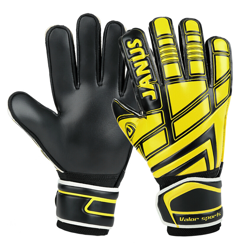 Janus 390P Free shipping Thickened Reusch 's top goalkeeper gloves football lungmoon goalkeeper gloves soccer gloves- LATEX palm(China (Mainland))