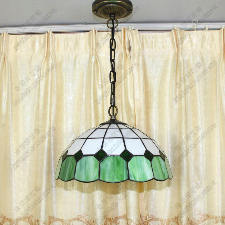 Sales Promotion Tiffany Lighting Lamps Simple Lattice Hallway Lamp Bar  Office Mediterranean Bedroom Restaurant Pendant Lamp   Us461