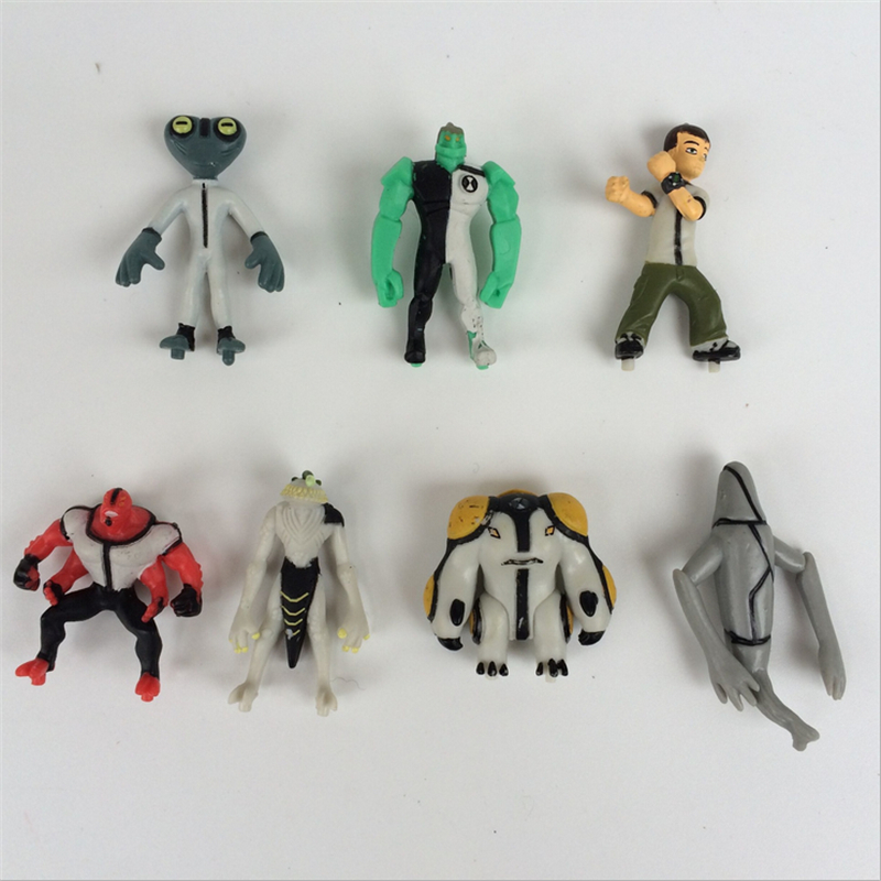 Ben 10 omnitrix Action Figuers Collection Model Toys Classic Ben Earth Defender 40/Set 4cm Free Shipping Gift for Kids yk27(China (Mainland))