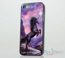 Unicorn Mythical Creature Beautiful back skins mobile cellphone cases for iphone 4/4s 5/5s 5c SE 6/6s plus ipod touch 4/5/6