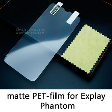 Glossy Lucent Frosted Matte Anti glare Tempered Glass Protective Film On Screen Protector For Explay Phantom Dual SIM