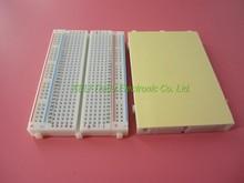 Free Shipping 1pcs  DIY 400 Points Solderless Bread Board Breadboard 400 PCB Test Board for ATMEGA PIC Arduino UNO(China (Mainland))