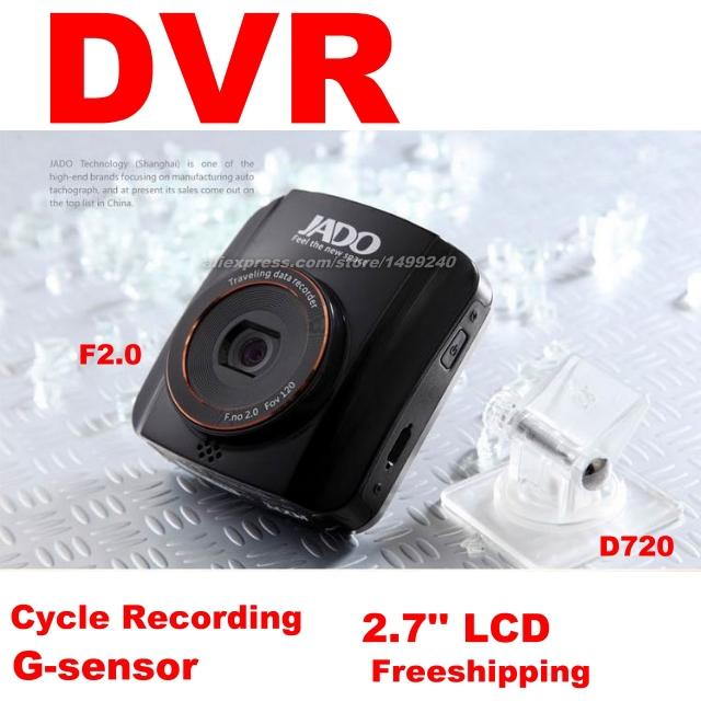 Car DVR Russian menu / cycle recording / Road Dash Video / Small with big LCD / English menu / FHD 1080P 720P / JADO(China (Mainland))