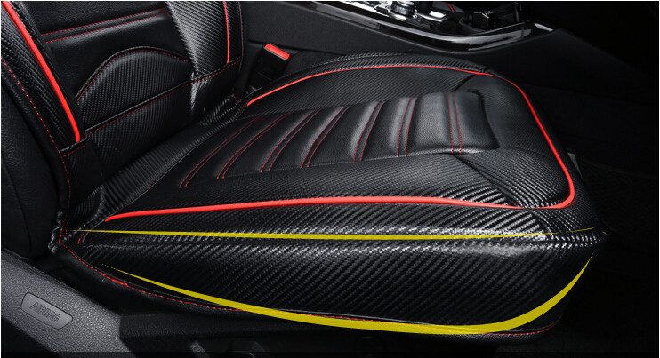 2015 Newly! Special seat covers for Mazda 3 Axela 2014 fashion carbon fiber leather seat cover for 3 Axela 2015,Free shipping