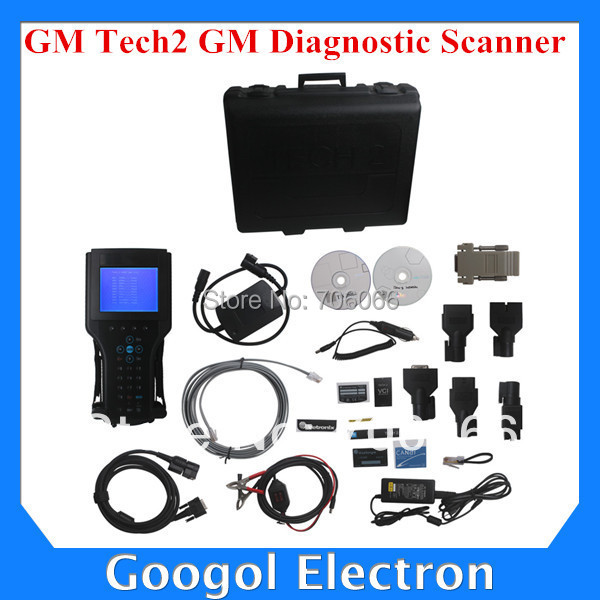 TOP-Rated GM Tech2 GM Tech 2 Diagnostic Scanner For GM/SAAB/OPEL/SUZUKI/ISUZU/Holden Diagnostic/Scan Tool Fast Express Shipping(Hong Kong)