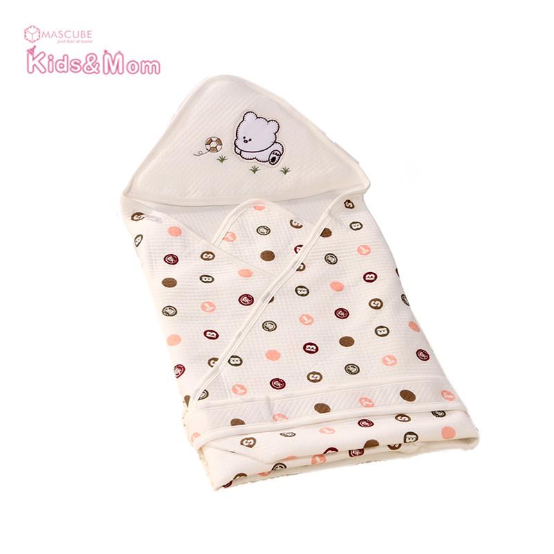 New Summer Soft Baby Sleeping Bag Blanket Envelope Design for Newborn Wrap Blankets Children Swaddling Bedding Baby Product(China (Mainland))