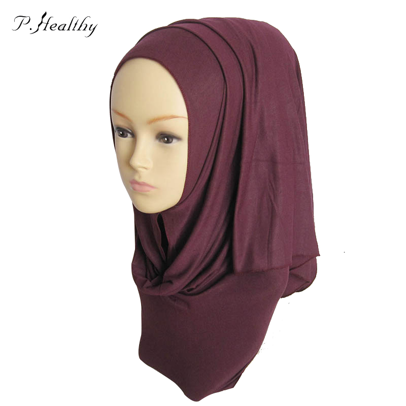 10 Pcs/lot Muslim Women Hijabs Cotton Jersey Foulard Women Islamic Scarf Scarves For Women 170*50cm 45 Colors ch002 z15(China (Mainland))
