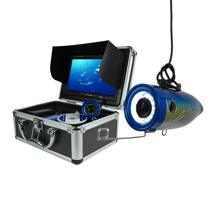 7 TFT LCD Video Camera System Fish Finder HD 600TV Lines Underwater Camera<br><br>Aliexpress