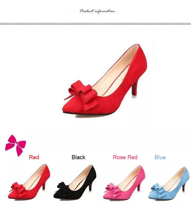 New Brand Fashion Women Pumps Red Bottom Thin High Heel Pumps Shoes For Women Pointed Toe Sexy Party Wedding Woman Shoes ZX3.5