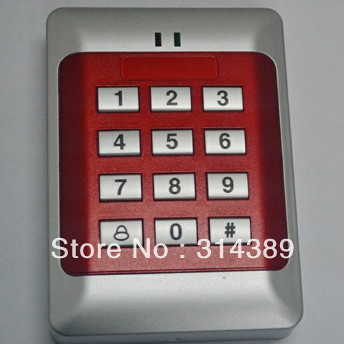FREE SHIPPING!FC195E,1000 USERS Keypad password,blue backlight,EM card,reader extendable<br><br>Aliexpress