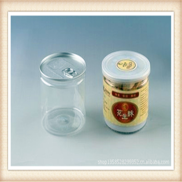 Transparent/ wide mouth clear plastic PET Jar and patent screw air-proof lid for candy,chocolate,nuts,food storage!!(China (Mainland))