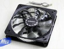 Whloesale New Mute Enermax 12cm 12025 fan magnetic ball bearing uctb12 Aluminum side FREE(China (Mainland))