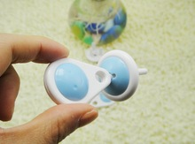 Socket Protection Children Care Electric Shock Hole Electrical Security Plastic Safe Lock Cover Both feet Baby