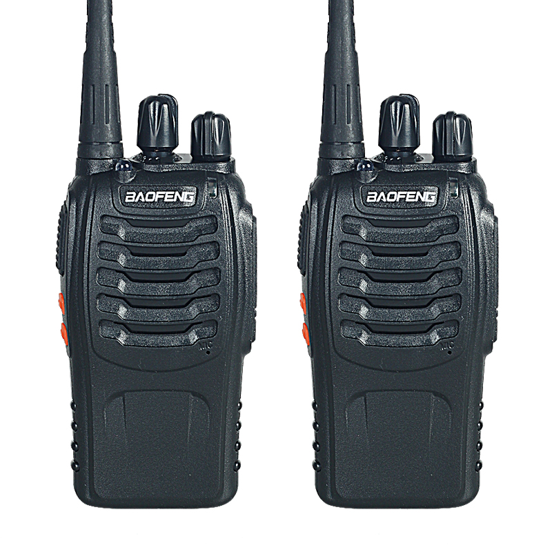 Walkie Talkie Two-way Radio 2 PCS Baofeng BF-888S Portable with VHF UHF 5W 400-470MHz 16CH(China (Mainland))