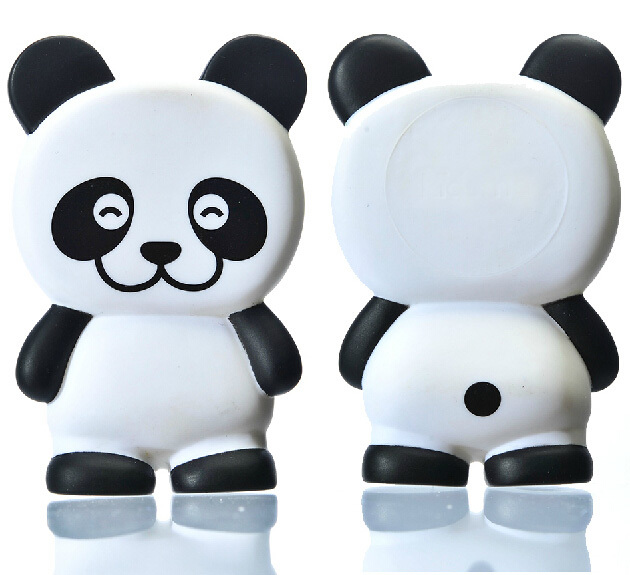 Cute Childrens Kids Happy Panda Toy Newborn Baby Environmental PVC Lovely Present Puzzle Plaything Free Shipping(China (Mainland))