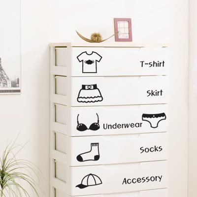 Creative room decoration cute sticker with underwear theme, suit for girl and boy lovers locker cabinet of clothes(China (Mainland))