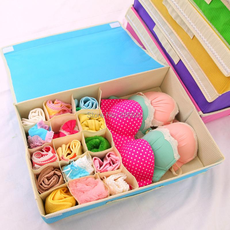 Comprar 2 en 1 para no tejidos ropa organizador ropa interior calcetines de - Organizador de ropa interior ...