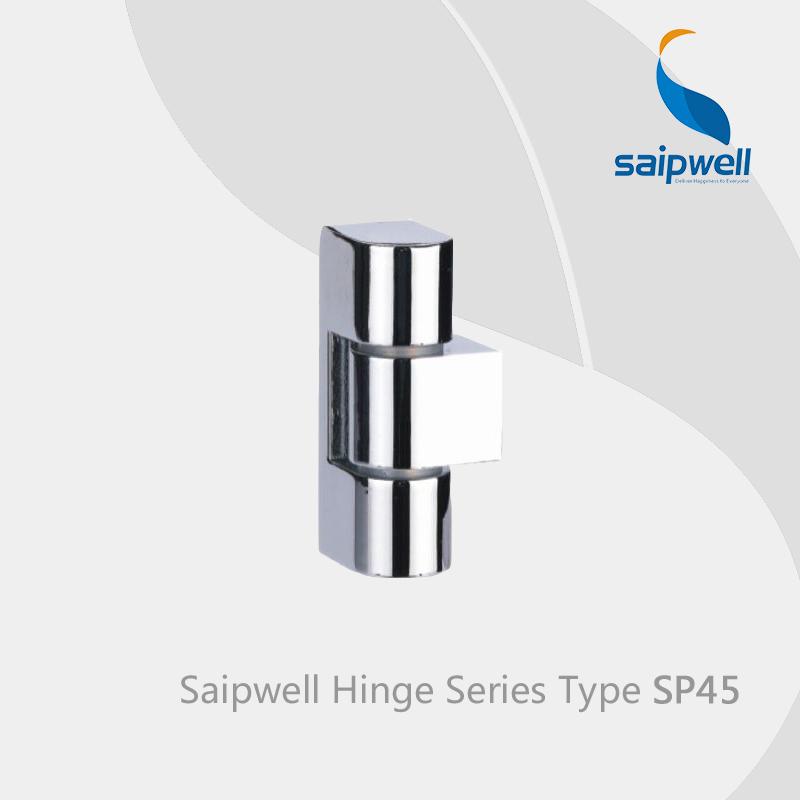 Saipwell SP45 dobradiças ocultas para portas de aço armário de cozinha vaidade do banheiro espelho hardware dobradiças dobradiças 10 Pcs em um pacote(China (Mainland))