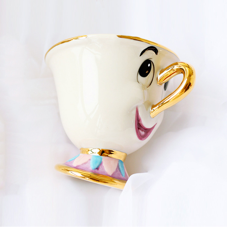 One-Piece-Beauty-and-the-Beast-Mrs-Potts-son-Chip-Only-Mug-Tea-Coffee-Cup-for