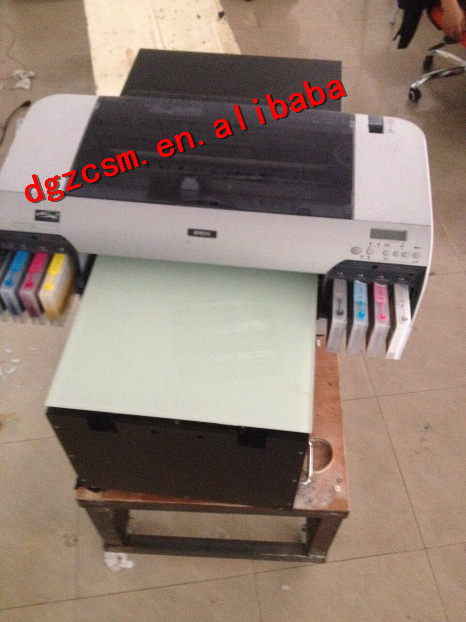 Ультрафиолетовый принтер своими руками 21