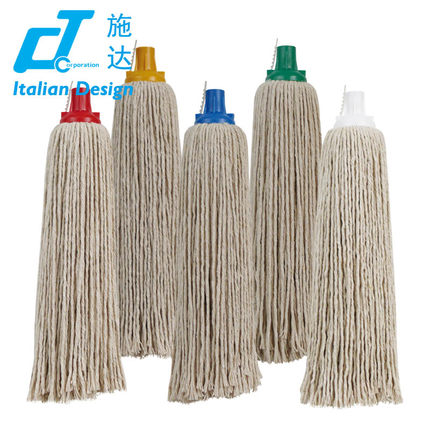 Cotton Mop Head Material floor cleaning mop round mop head for cleaning floor,Cotton mop refill,250G(China (Mainland))