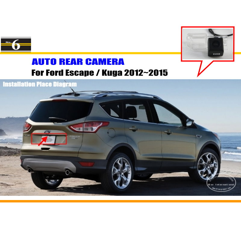 car camera for ford escape kuga 2012 2015 rear view. Black Bedroom Furniture Sets. Home Design Ideas