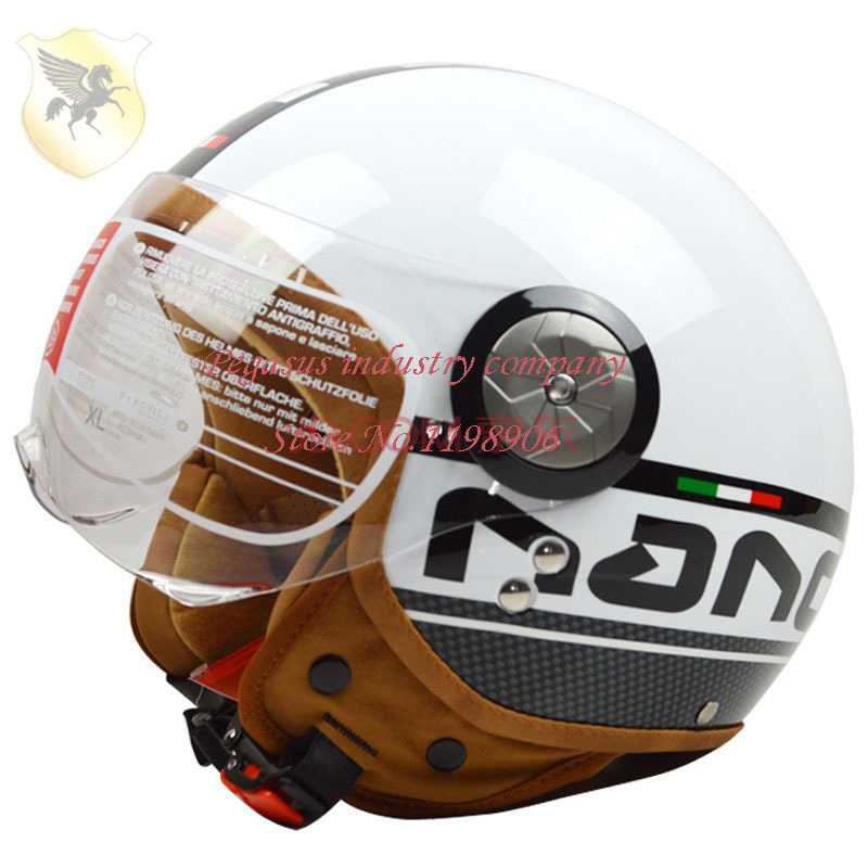 2014 ABS composite New Arrive 100% Genuine BEON motorcycle helmet Open face MOTO electric bicycle helmet fashion vintage helmet<br><br>Aliexpress