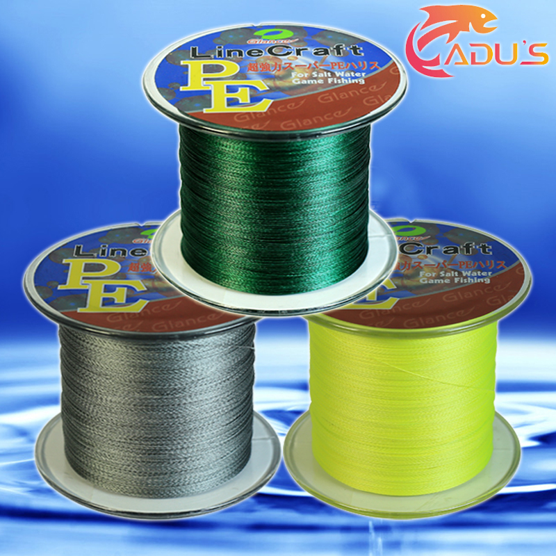 Гаджет  GLANCE 500 Meters Braided Fishing Line Use Multifilament PE Material From Japan 20 25 30 40 50 60 80LB 9 Colors Free Shipping None Спорт и развлечения