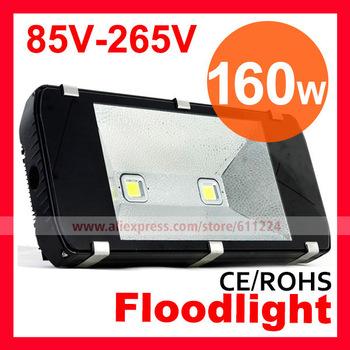 Waterproof 160W 2pcs Heads LED flood Light High Power outdoor Tunnel Light 85V-265V