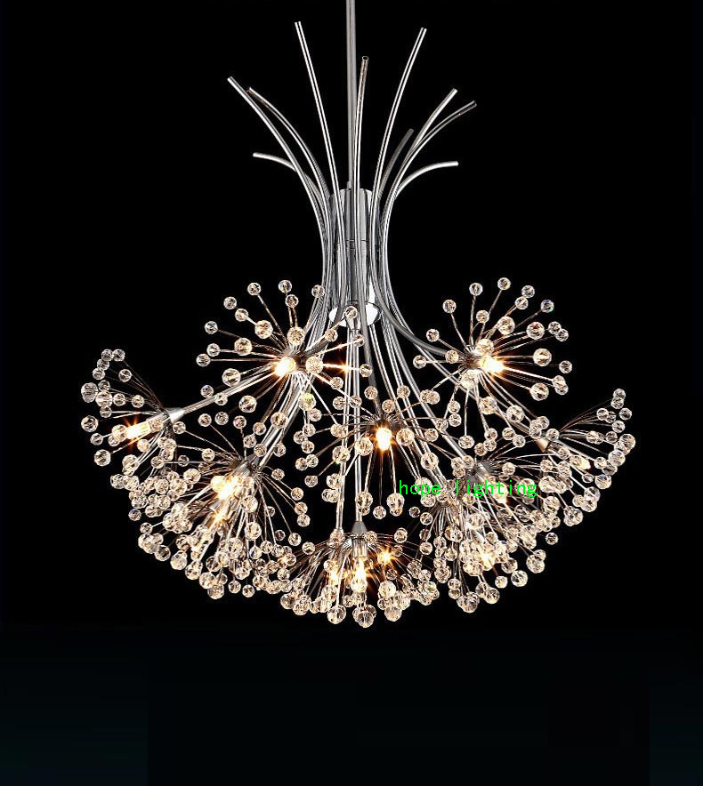 crystal lighting chandelier living room modern led crystal chandelier