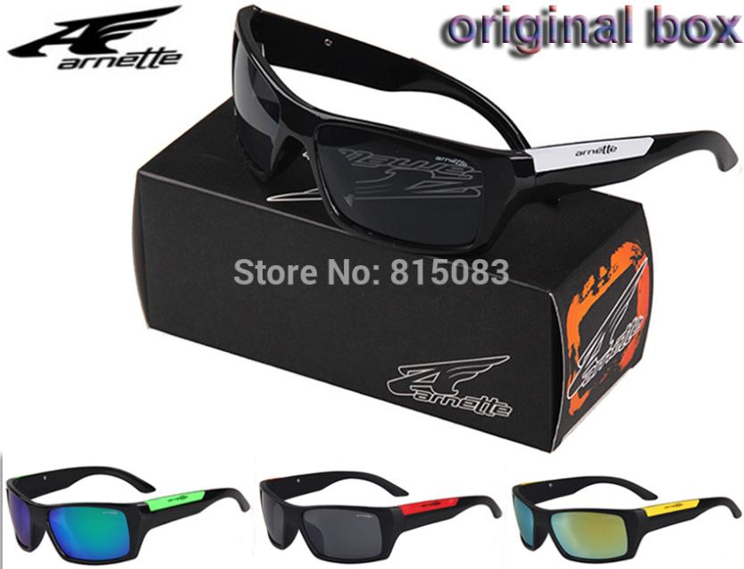 original box Racing cycling sun glasses UV400 sports eyewear Arnette sunglasses fashion brand designer glasses gafas de sol men(China (Mainland))