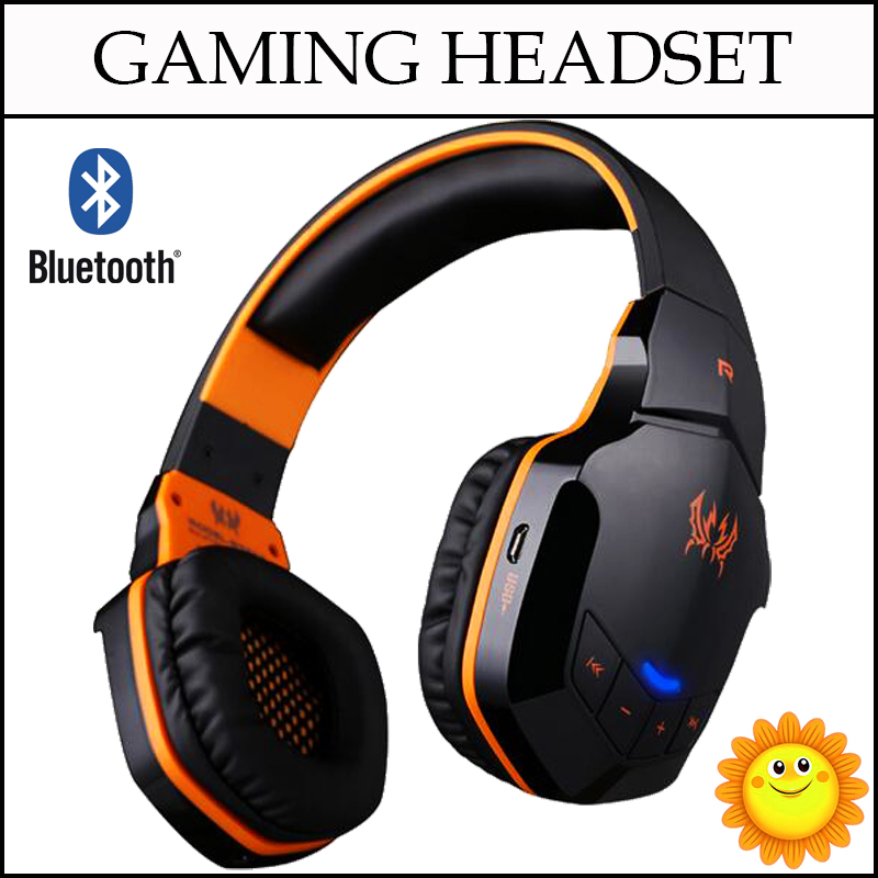 EACH B3505 Gaming Headphone Wireless Bluetooth NFC Headset With Microphone Glaring LED Light For