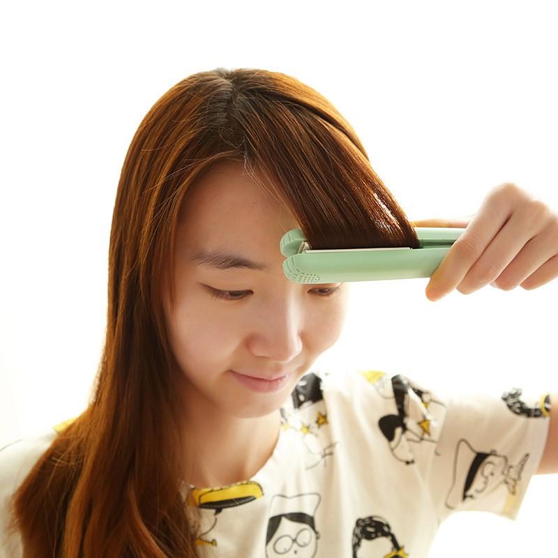 Profissional 110 V-240 V Mini Eletrônico Ferramentas de estilo Rápido Ondas alisador de cabelo Irons Cuidados ferramenta pincel Seco escova de Alisamento molhado