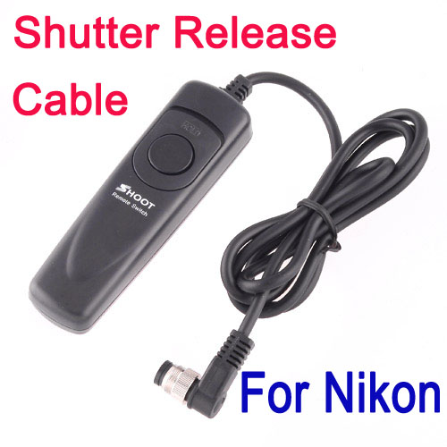 Remote Camera Shutter Release Switch Cable For Nikon D200 D300 D700 10pcs/lot Freeshipping Dropshipping Wholesale(China (Mainland))