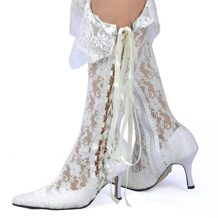 Fantastic Womens Patent Leather Lace Up Mid Calf Combat Boots W/ Zipper Closure White | EBay