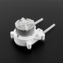 DIY 6V DC Pump Peristaltic Dosing Head For Aquarium Lab Analytical Water(China (Mainland))